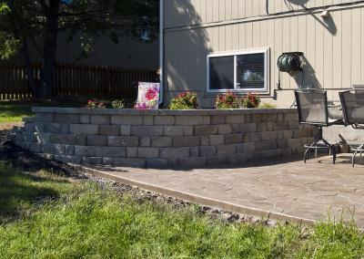 Concrete Paver Patios Shawnee