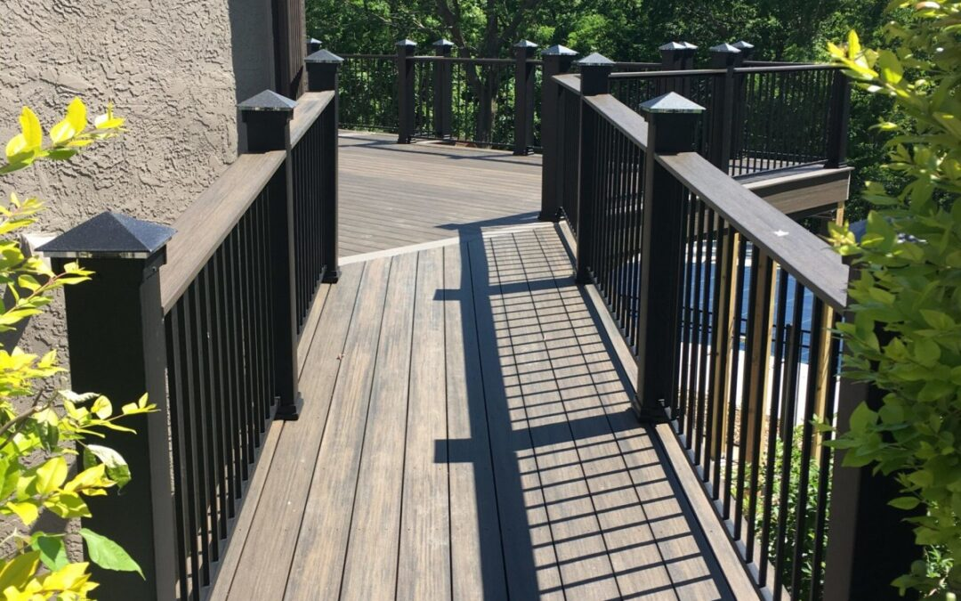 Composites have taken the deck building industry by storm.